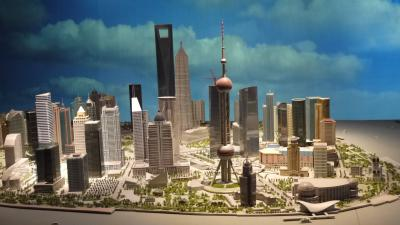 上海環球金融中心観光と上海リニアと和諧号乗車