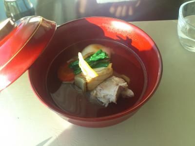 「元旦の朝食おせち」を楽しみにCONLAD東京