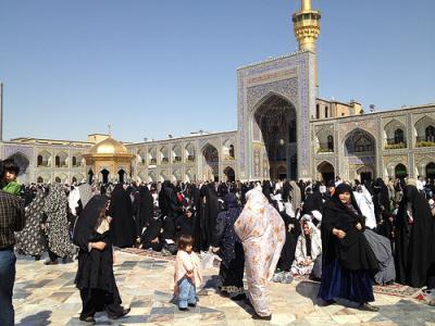 イラン女一人旅(15)マシュハド・エマーム・レザー廟