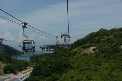 2012年夏の香港(9回目)で,やっと大仏さんと…