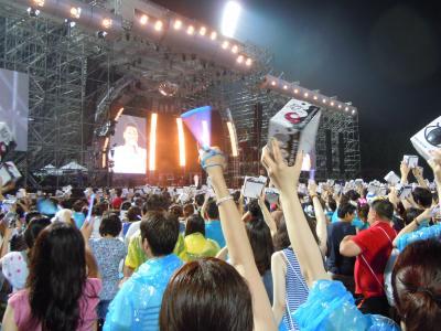 カンナムスタイルでお馴染み、PSYのコンサートに行ってきました!