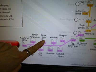 10日の予定が3日で途中帰国となったKL旅行(LRTの乗り方説明もあるよ)