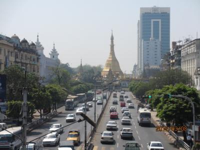 ビルマ・マンダレー特急旅行(58)ヤンゴン下町の街歩き。