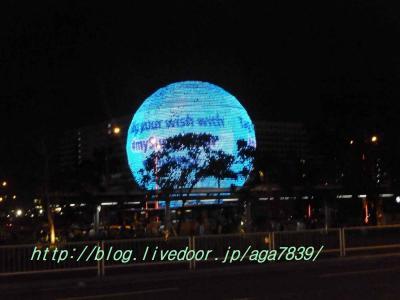 2012年GW 11回目のセブ島 #20 マニラ編 ホテルH2Oの窓から『Musical Fountain Show』 夕食はMOAの『炭火焼肉 但馬屋』 翌日はラスト帰国ですDL172便ニューヨーク行きで帰ります