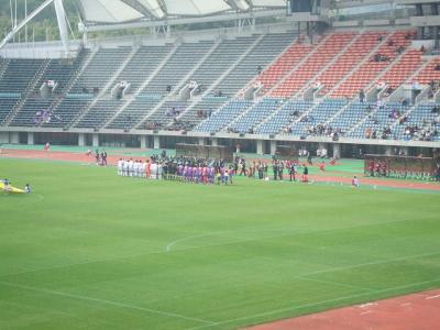 2007 年末の九州 長崎・熊本の旅【その5】熊本へサッカー観戦に