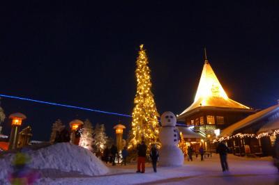 寒がりが行く、フィンランド!③ ~オーロラが観たいっ!~(ロバニエミ)