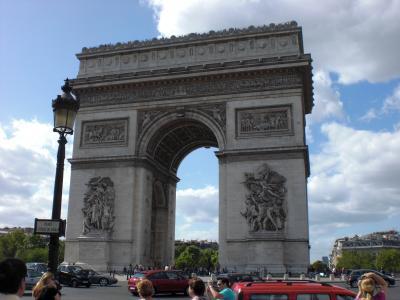 ぶらっとパリの街を歩いてみました。