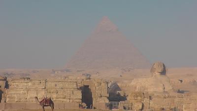 エジプトのカイロ・ギザ お国事情で観光客が少なくて・・・