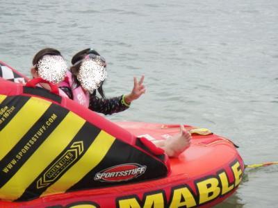 琵琶湖にJET