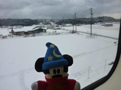 2013年01月 20年に一度の式年遷宮 伊勢神宮に初詣【後編】「帰りの車窓は雪景色」