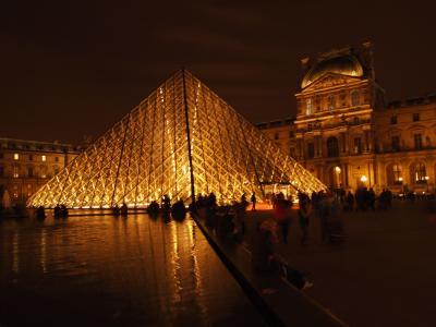 2012-2013年末年始家族旅行ロンドン・パリ8日間の旅(パリ編)・1日目