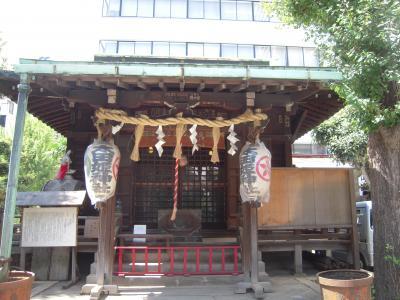 道灌ゆかりの地を訪ねる・武蔵御茶ノ水太田姫稲荷神社散歩