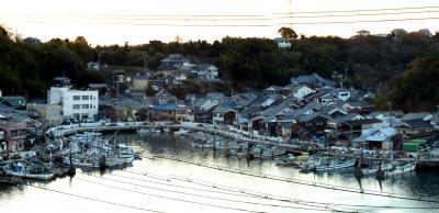 家族旅行'2013冬04念願の神武天皇時代から続く室津の街並み散策