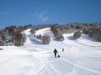 次男・スキーデビュー@沼尻
