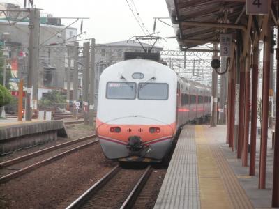 2013.01 初めての台湾で台鉄三昧!(12)西部幹線を南下、自強号&普通列車の旅