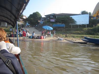 タイ北部の旅2013(7-1)チェンコーン~フェーサイ(ラオス1日観光)