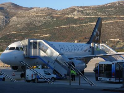 アドリア海の碧い海で命の洗濯 【20】 ドブロヴニク空港から帰国便へ