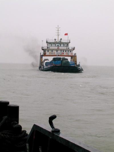 昔の出張を想い出して・・・ [其の参] 2000年5月 上海 / 後編 『長江を渡る』