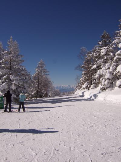 2012年末 雪山ショートTripは初の志賀高原へ