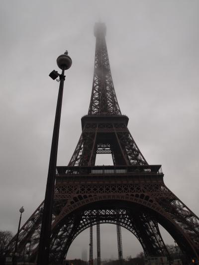 2012-2013年末年始家族旅行ロンドン・パリ8日間の旅(パリ編)・2日目