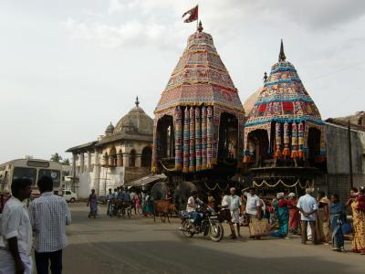 南インドの旅その11-チダムバラム、ナタラージャ寺院の祭り