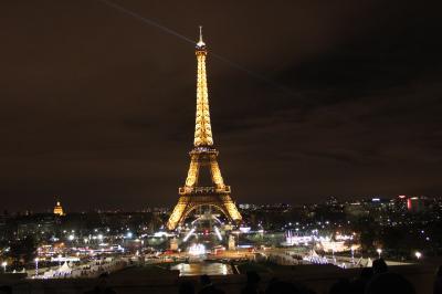 突発一人旅!年末年始のヨーロッパPart3(パリで過ごす年越し)