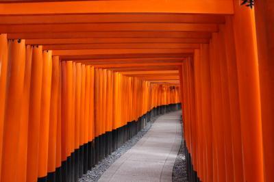 【プレ・ハネムーン】京都旅行 最終日 ② (やっとこれた!伏見稲荷大社)
