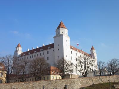 ◆年末年始の中欧旅行◇3日目◆ブラチスラバ城とミハエル門