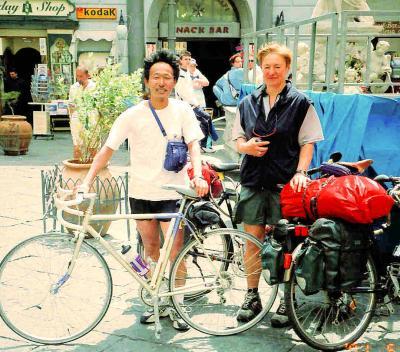 自転車イタリア縦断旅行