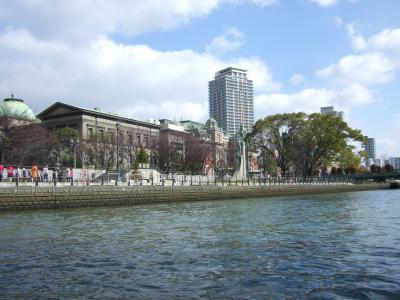 2013年2月  水都大阪 水上バスアクアライナーの旅