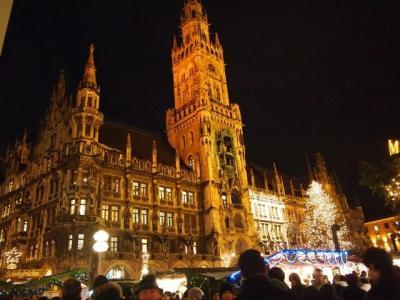 クリスマスを満喫♪ドイツハネムーン Part5 ミュンヘン観光~クリスマスマーケット/車好き夫に連れられてBMW博物館♪