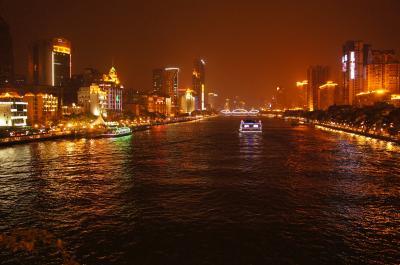 香港~マカオ~珠海~広州~香港ひと回りツアー②懐かしい広州の夜編