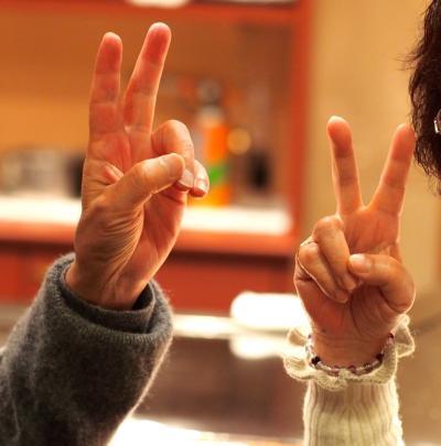2013年元旦・宝塚ホテルで古希祝い。