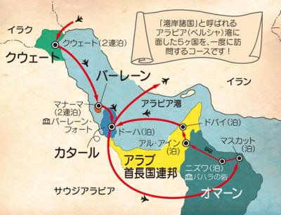 散々な中東五か国ツアー/1か国目クウェート