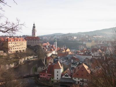 ◆年末年始の中欧旅行◇5日目◆チェスキークロムロフの街並み