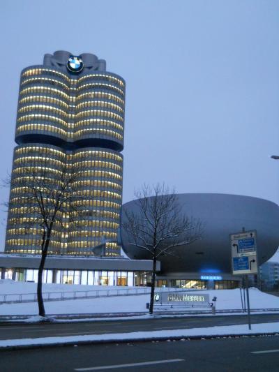 2013 冬のミュンヘン 一人でもビールとBMW