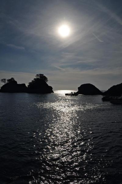 西伊豆を北上、堂ヶ島に。