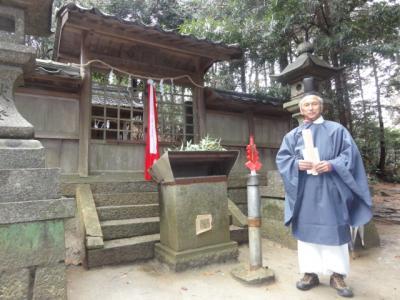 竹取翁博物館開館一周年記念イベント① かぐや姫神を「かぐや姫神社」に迎える