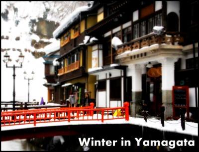 【冬の山形 Vol.2】 レンタカードライブで雪の山寺、そば街道、銀山温泉へ♪