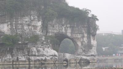 桂林観光(一江四湖・象鼻山)