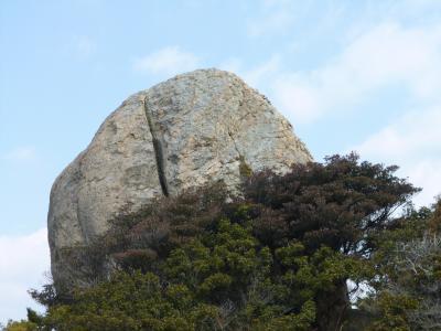 国生み伝説の家島諸島・西島 天の御柱・コウナイの石紀行