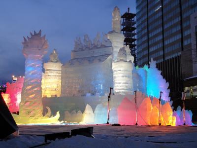 2013 雪まつり&旭山動物園の旅(雪まつり編)