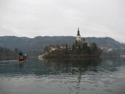 クロアチア・スロベニア8日間(1) ◆ブレッド湖に浮かぶ小さな教会◆