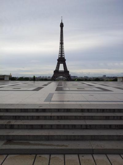 エッフェル塔が良く見える場所