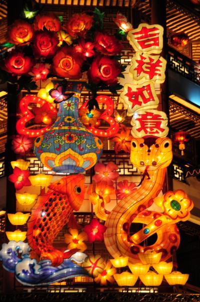 上海★新年好!旧正月真っ只中のランタンフェスティバル!2013豫園新春民俗芸術灯会