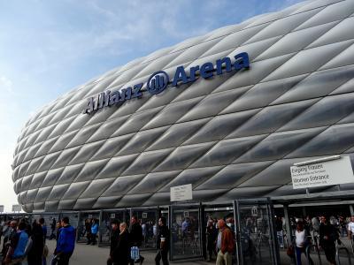 9月のミュンヘン -ミュンヘンで再びサッカー観戦