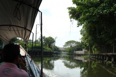 プラカノン運河を行く * バンコク紀行(104) *