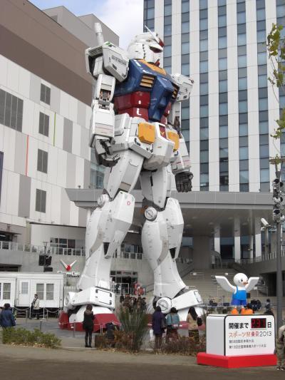 東京テレポートから国際展示場まで東京臨海副都心を歩いて横断
