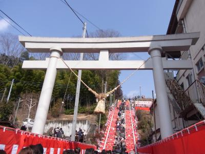 茨城-大子町 *百段階段ひな祭り*