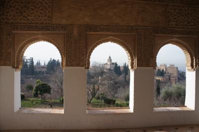 可愛いね~。アンダルシアの白い村③グラナダといえばアルハンブラ宮殿でしょ~編